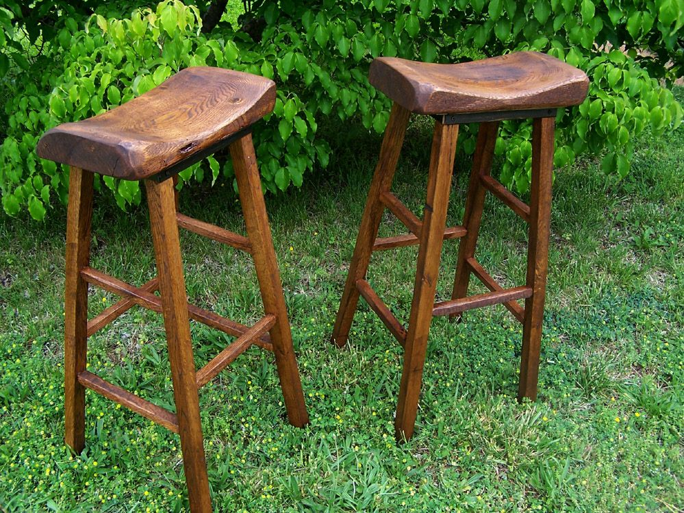 Bar Stool For Outdoor Reclaimed Wood Bar Creation Story by The Strong