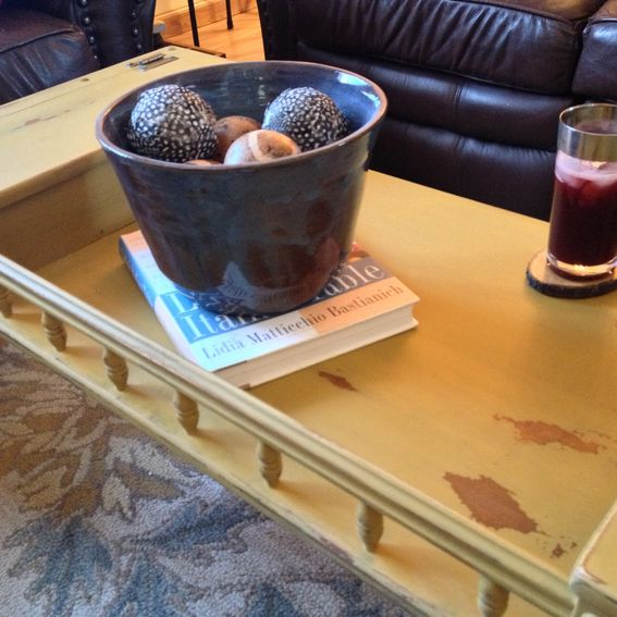 Hand Made Vintage Ethan Allen Coffee Table Early American