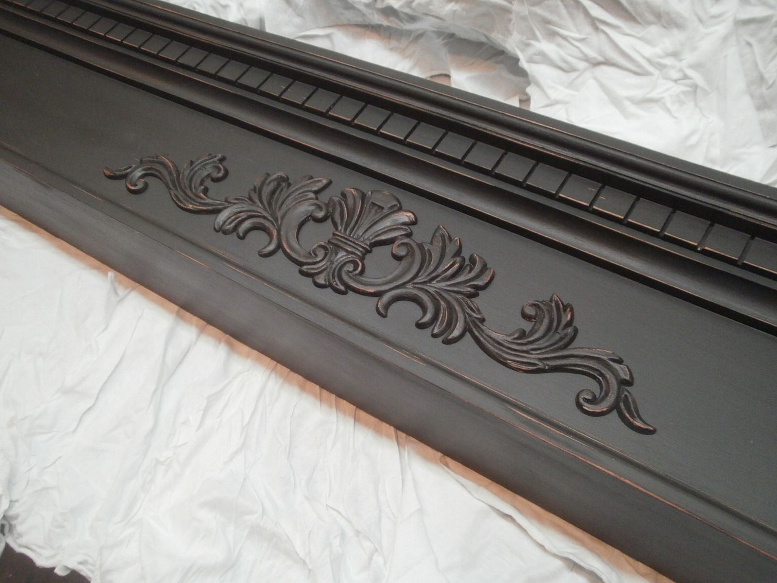 Hand Crafted Slightly Distressed Fireplace Mantel Mantle By Chad 39 S Custom Cabinets