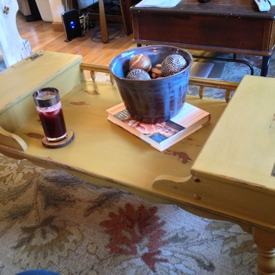 Ethan Allen Maple Coffee Table: Hand Made Vintage Ethan Allen Coffee Table Early American