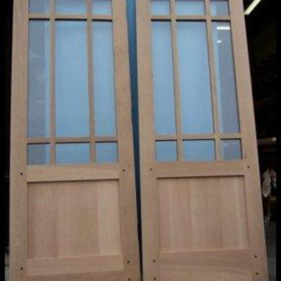 Hand Made Craftsman Style Interior French And Glazed Doors By Heart Of Oak Workshop