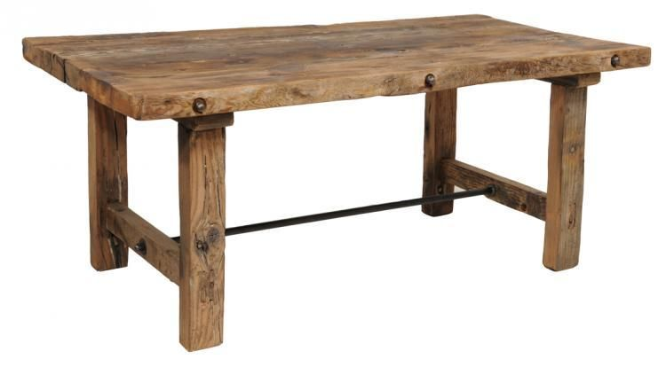 small farmhouse style rustic kitchen table