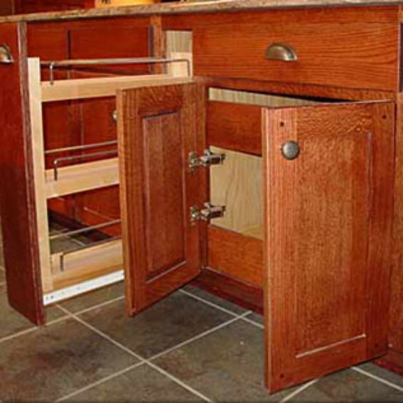 Kitchen Cabinets Mission Style: Hand Made Mission Style Solid Oak Kitchen Cabinets By R